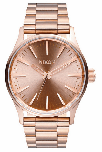(Sale!!!) Nixon Sentry 38 SS Watch<br>All Rose Gold