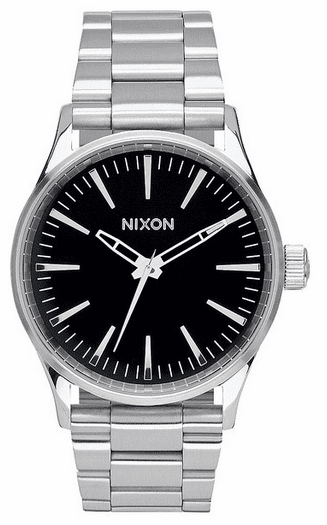 Nixon Sentry 38 SS Watch<br>Black
