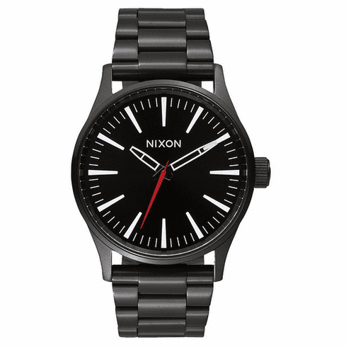 Nixon Sentry 38 SS Watch<br>Black/White