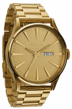 Nixon Sentry SS Watch<br>All Gold