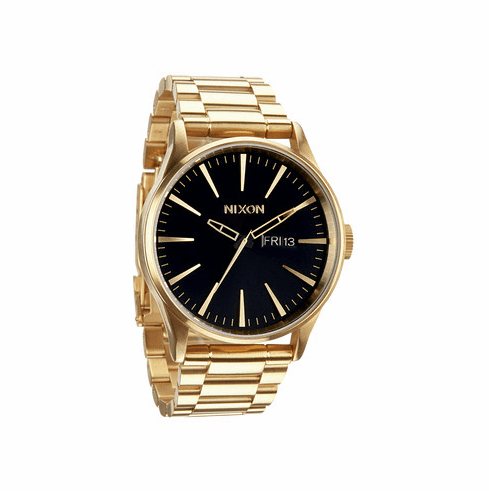 Nixon Sentry SS Watch<br>All Gold/Black
