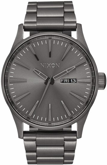 Nixon Sentry SS Watch<br>All Gunmetal