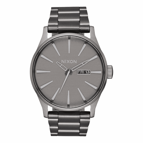 Nixon Sentry SS Watch<br>All Gunmetal/Gray