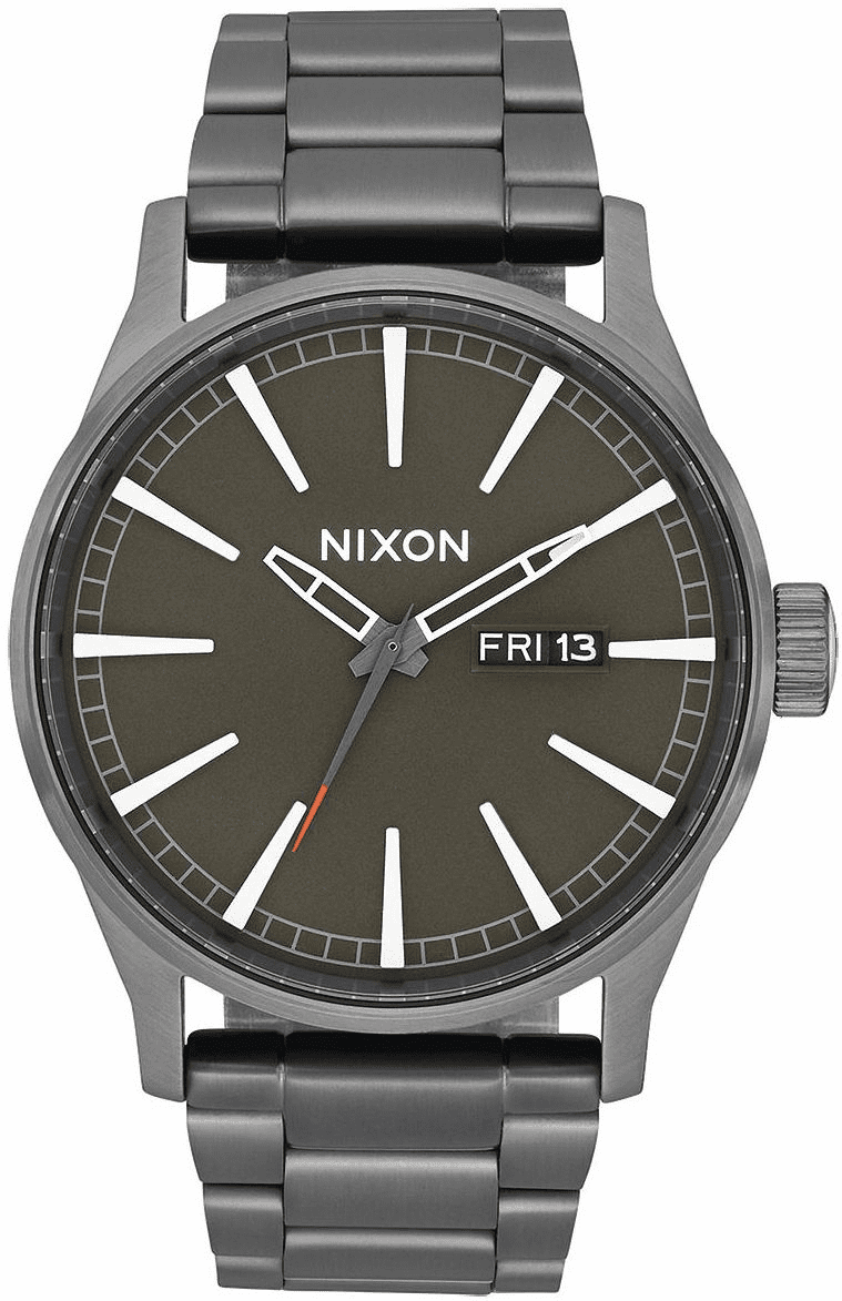 (SALE!!!) Nixon Sentry SS Watch<br>All Gunmetal/Slate/Orange