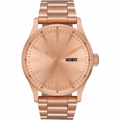 (SALE!!!) Nixon Sentry SS Watch<br>All Rose Gold