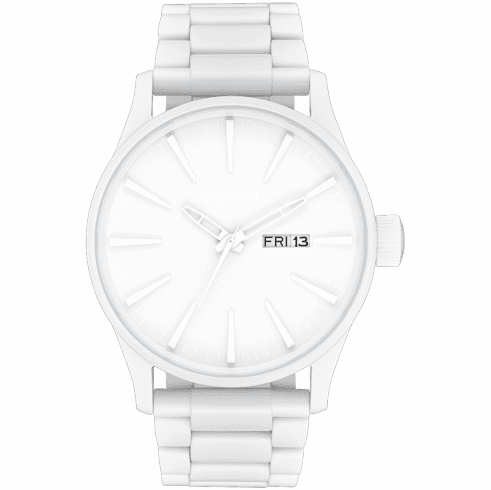 Nixon Sentry SS Watch<br>All White