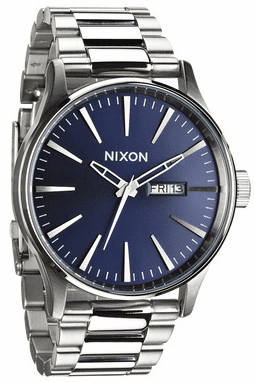 Nixon Sentry SS Watch<br>Blue Sunray