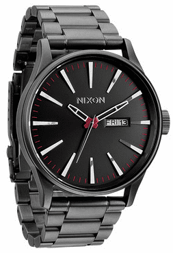 (SALE!!!) Nixon Sentry SS Watch<br>Gunmetal</font><br>