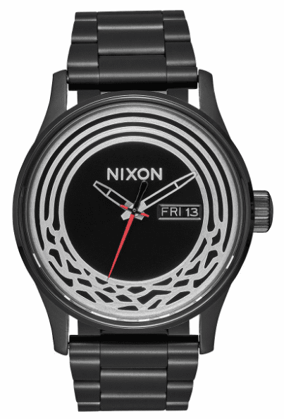 (SALE!!!) Nixon Sentry SS Watch<br>STAR WARS X NIXON<br>Kylo Black