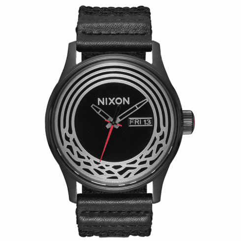 Nixon Sentry Woven Watch<br>STAR WARS X NIXON<br>Kylo Black