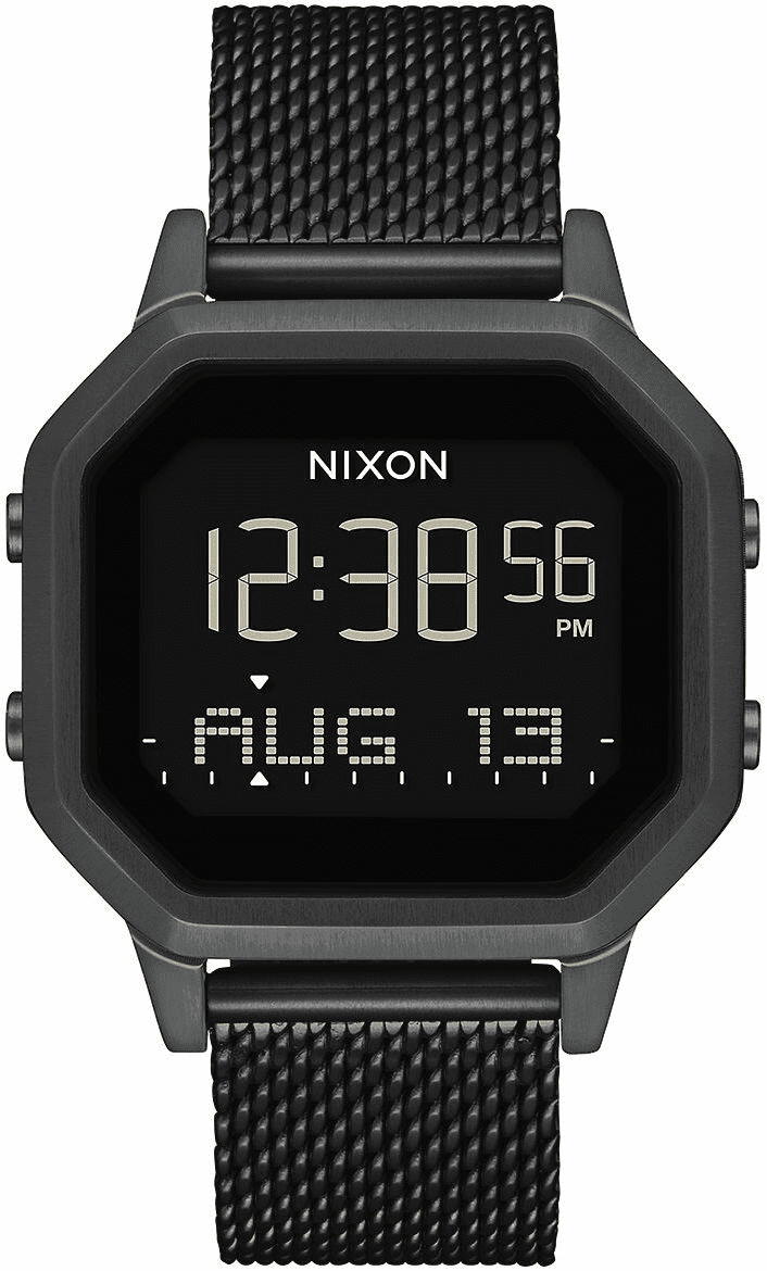 Nixon Siren Milanese Watch<br>All Black