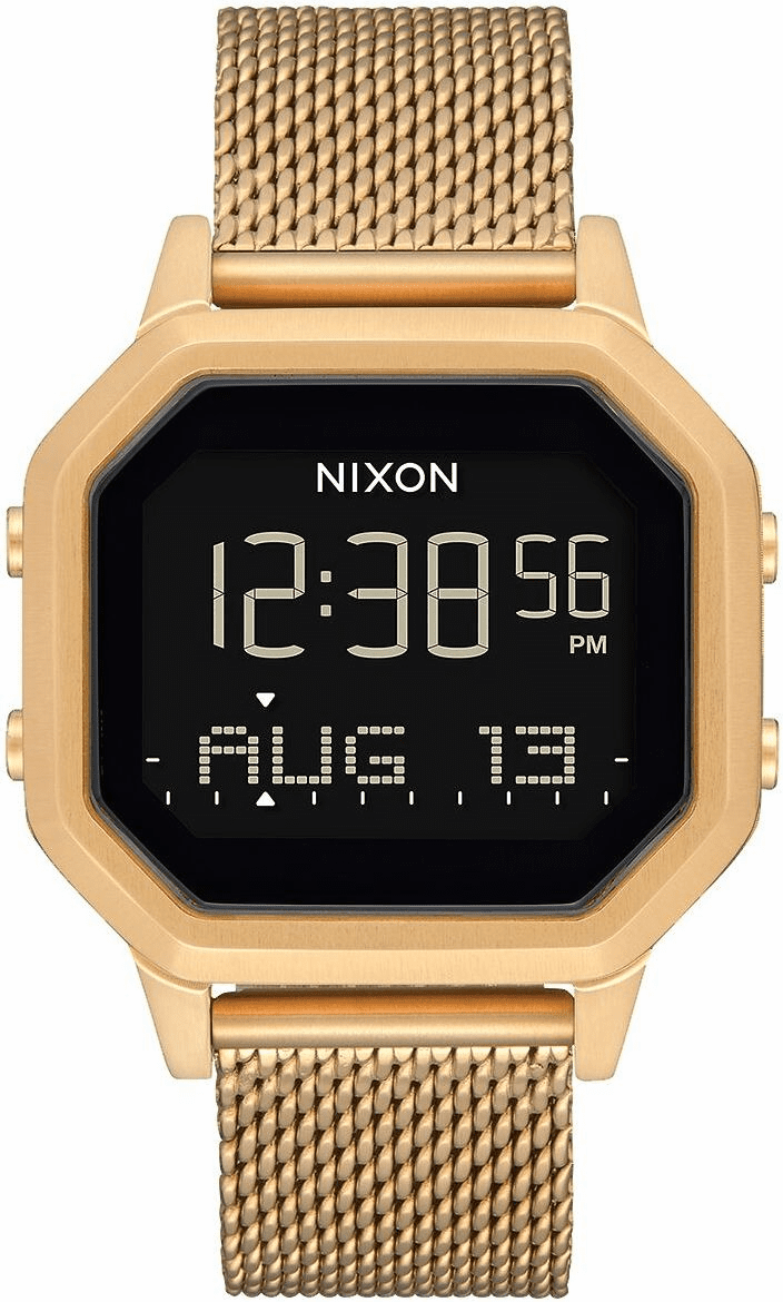 Nixon Siren Milanese Watch<br>All Gold