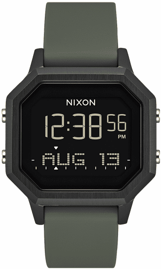 Nixon Siren SS Watch<br>Black/Fatigue