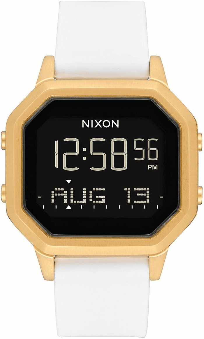 Nixon Siren SS Watch<br>Gold/White