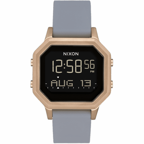 Nixon Siren SS Watch<br>Loght Gold/Gray