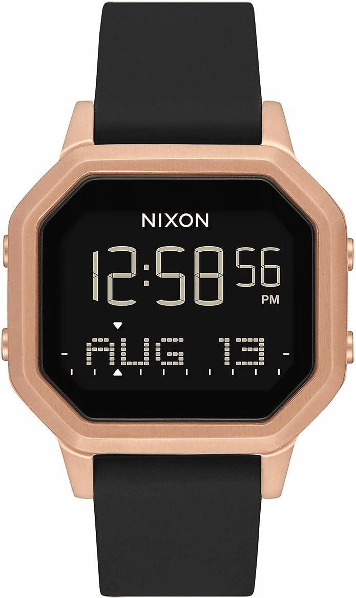 Nixon Siren SS Watch<br>Rose Gold/Black