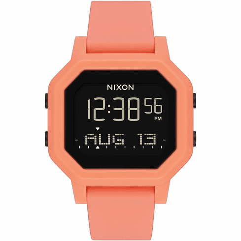 Nixon Siren Watch<br>Light Tangerine
