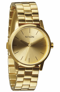 Nixon Small Kensington Watch<br>All Gold