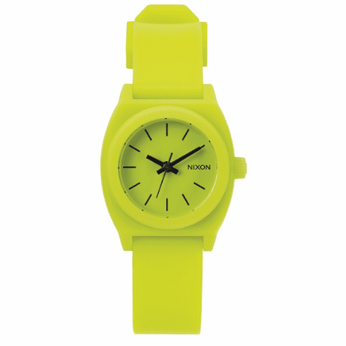 Nixon Small Time Teller P Watch<br>Lime