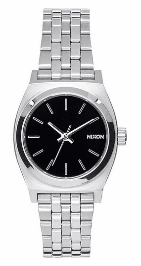 Nixon Small Time Teller Watch<br>Black