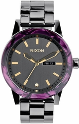 (Sale!!!) Nixon Spur Watch<br>Gunmetal/Velvet