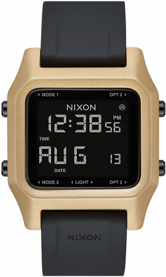Nixon Staple Watch<br>Black/Gold