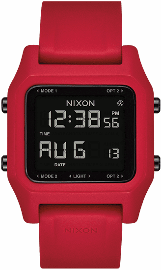 Nixon Staple Watch<br>Red