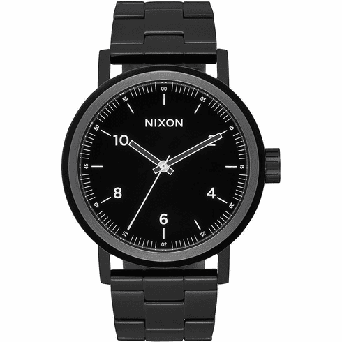 Nixon Stark Watch<br>All Black/White