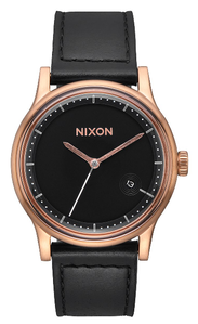 Nixon Station Leather Watch<br>Unisex