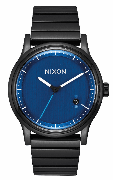 (SALE!!!) Nixon Station Watch<br>All Black/Blue