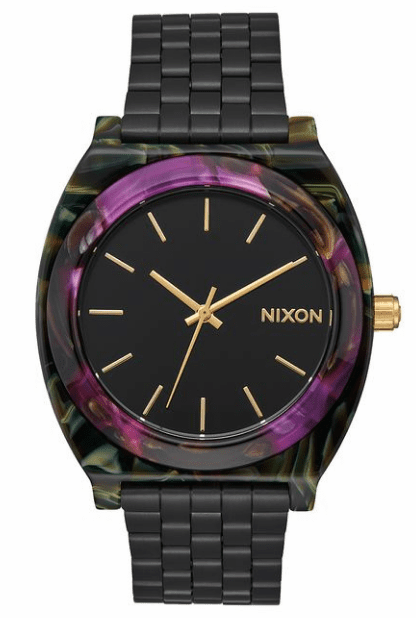 Nixon Time Teller Acetate Watch<BR>Unisex