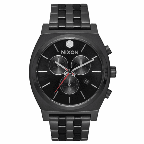 Nixon Time Teller Chrono Watch<br>STAR WARS X NIXON<br>Kylo Black