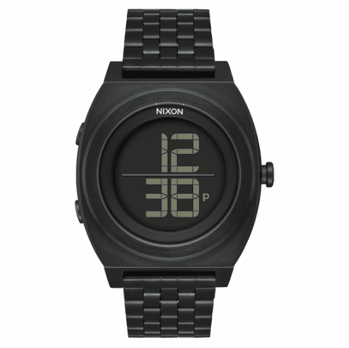(SALE!!!) Nixon Time Teller Digi SS Watch<br>All Black