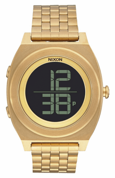 (SALE!!!) Nixon Time Teller Digi SS Watch<br>All Gold