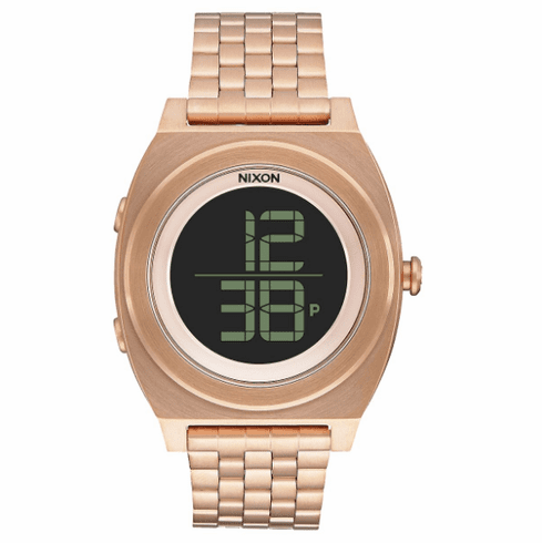 (SALE!!!) Nixon Time Teller Digi SS Watch<br>All Rose Gold
