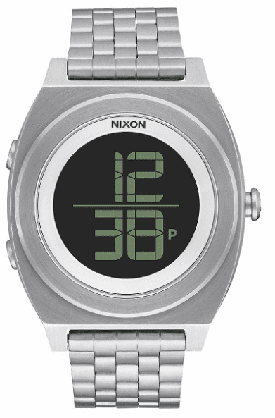 Nixon Time Teller Digi SS Watch<br>Unisex