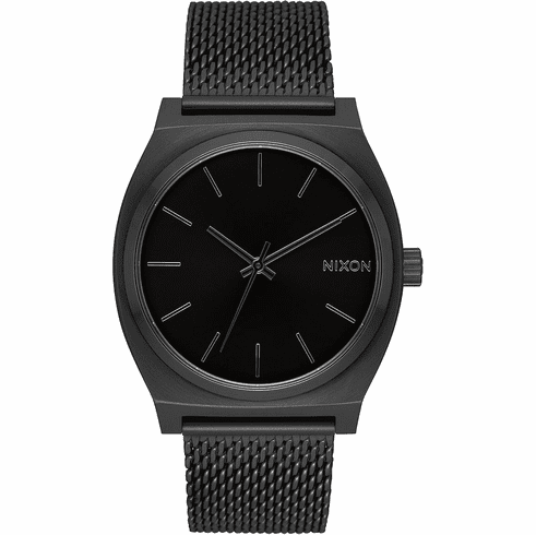 Nixon Time Teller Milanese Watch<br>All Black