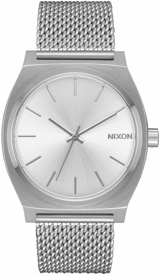 Nixon Time Teller Milanese Watch<br>All Silver