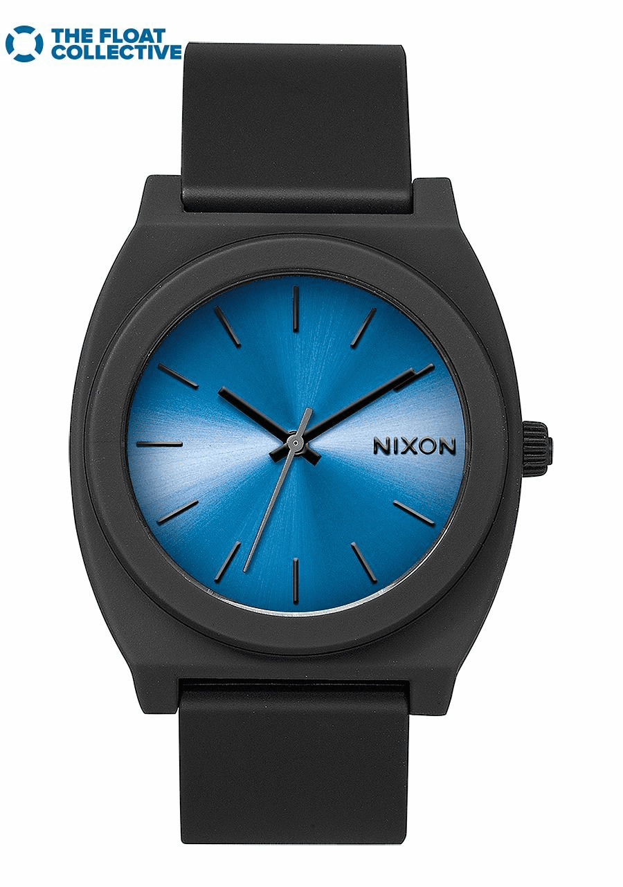 Nixon Time Teller P Watch<br>Black/Blue/Float