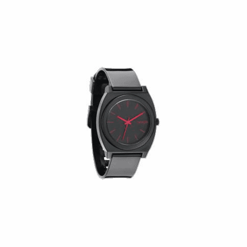 Nixon Time Teller P Watch<br>Black/Bright Pink