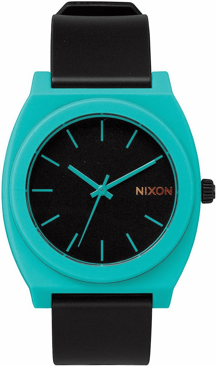 Nixon Time Teller P Watch<br>Black/Teal
