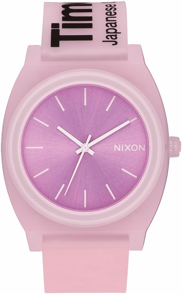 Nixon Time Teller P Watch<br>Invisi-Pink