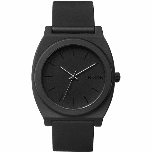 Nixon Time Teller P Watch<br>Matte Black