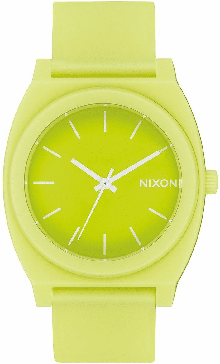 Nixon Time Teller P Watch<br>Matte Citron