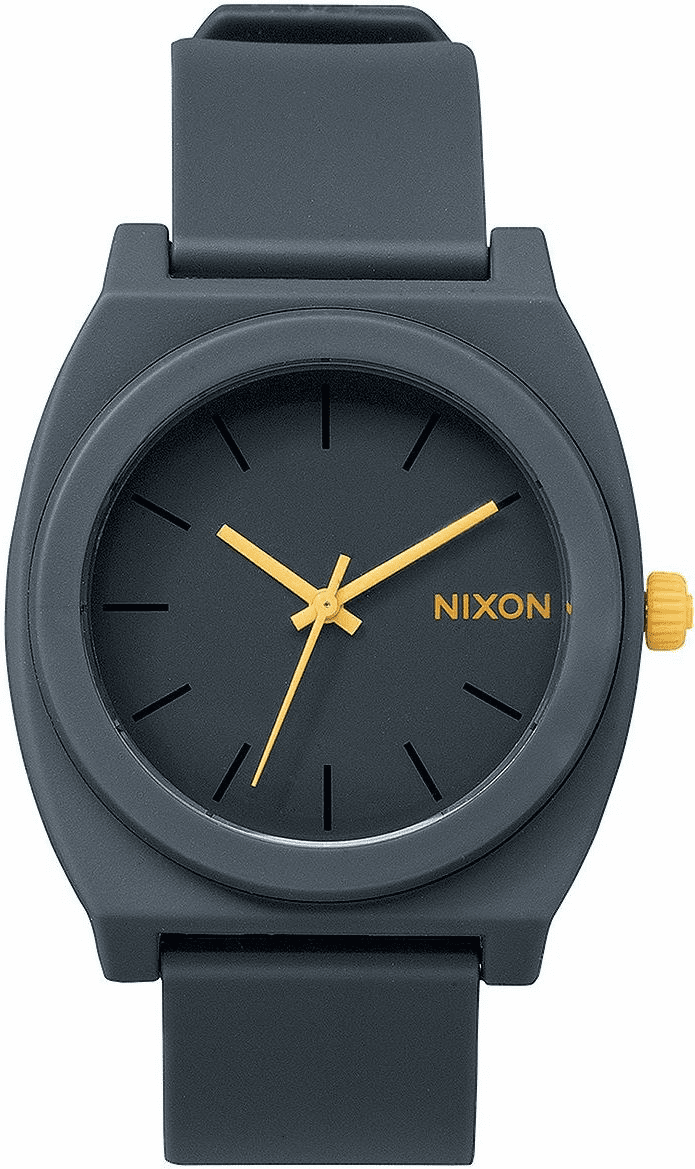 Nixon Time Teller P Watch<br>Matte Steel Gray