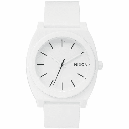 Nixon Time Teller P Watch<br>Matte White