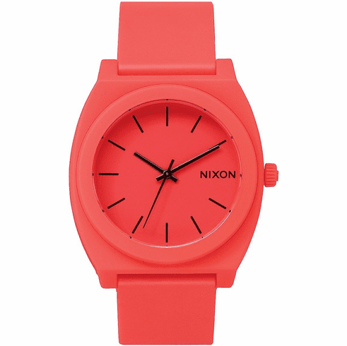 Nixon Time Teller P Watch<br>Neon Orange