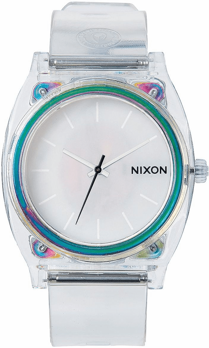 Nixon Time Teller P Watch<br>Translucent