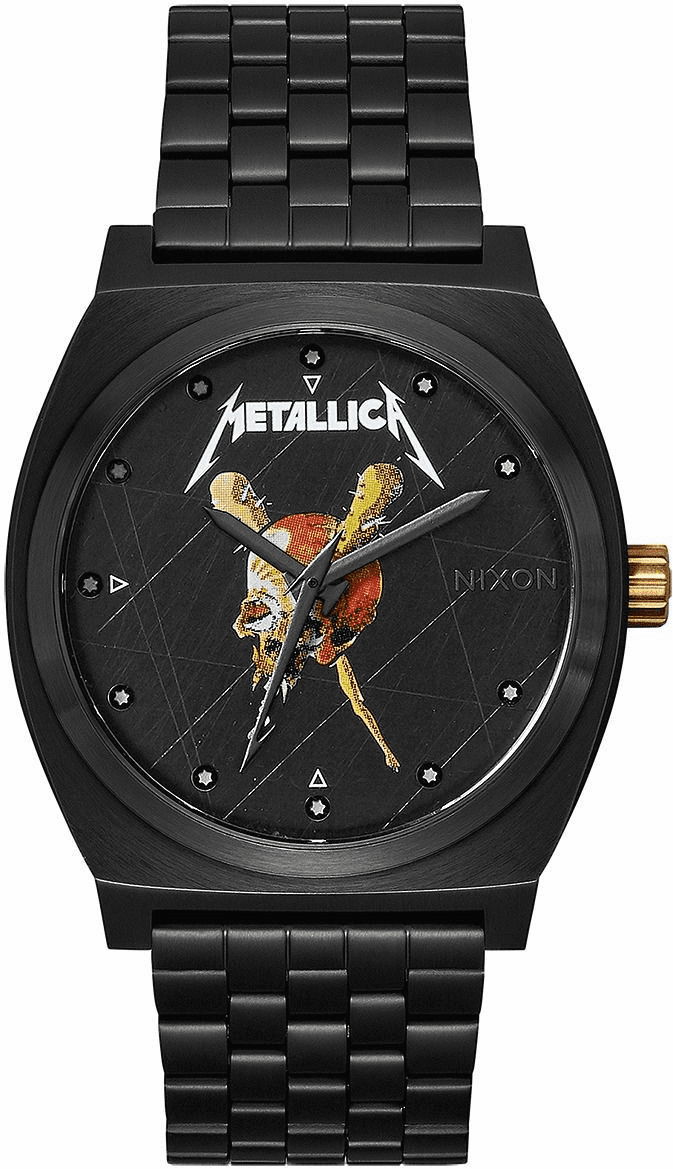 Nixon Time Teller Watch<br>METALLICA X NIXON<br>Pushead