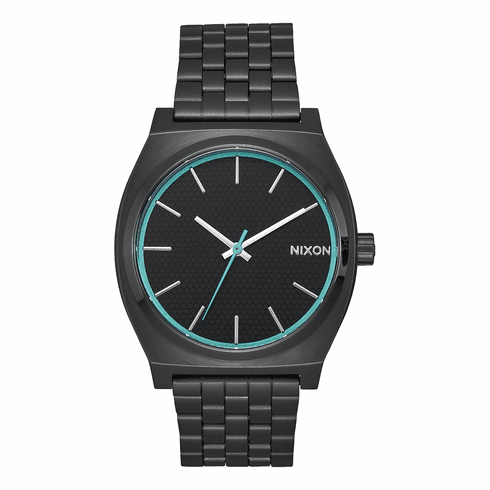 Nixon Time Teller Watch<br>All Black/Blue